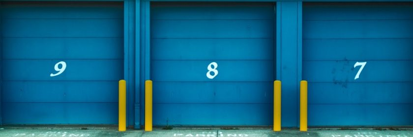 Three storage units
